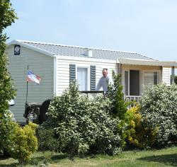 Mobile home Confort+ 27,5 m² (2 bedrooms) + überdachte Terrasse