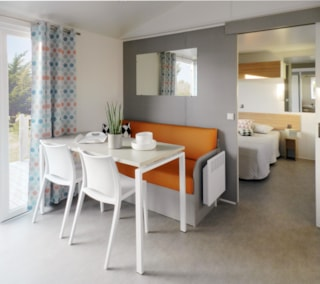 Mobile-Home Confort+ (2 Bedrooms) + Tv - Adapted To The People With Reduced Mobility