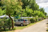 Pitch - Standard Pitch for caravan, tent or motorhome + car + electricity 16A - Camping Les Sablons