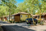 Rental - Chalet SUP Camping 2 bedrooms - Camping Les Sablons