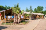 Locatifs - Tente LODGE SUP Camping 2 chambres - Camping Les Sablons