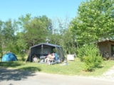 Pitch - Camping Pitch incl. 2 persons, electricity and car - Camping Les Charmes