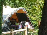 Pitch - Camping Pitch incl. 10 amps electricity and car - Camping Les Charmes
