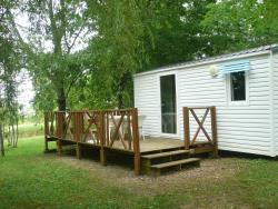 Rental - Mobil home Bambi 15m² + terrace 15m² - Camping Les Charmes