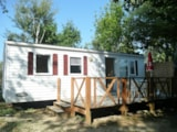 Rental - Super Titania, 3 Bedrooms - Camping Les Charmes