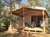 Rental - Safari, 2 Bedrooms - Camping Les Charmes