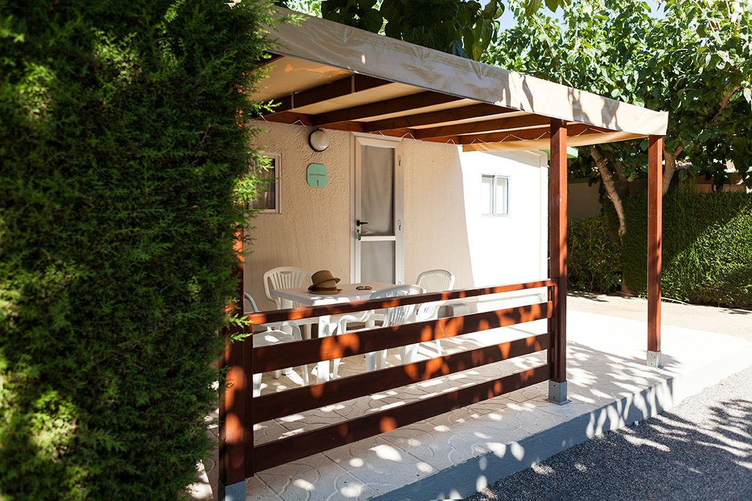 Accommodation - Bungalow Mediterrani - Camping Platja Cambrils
