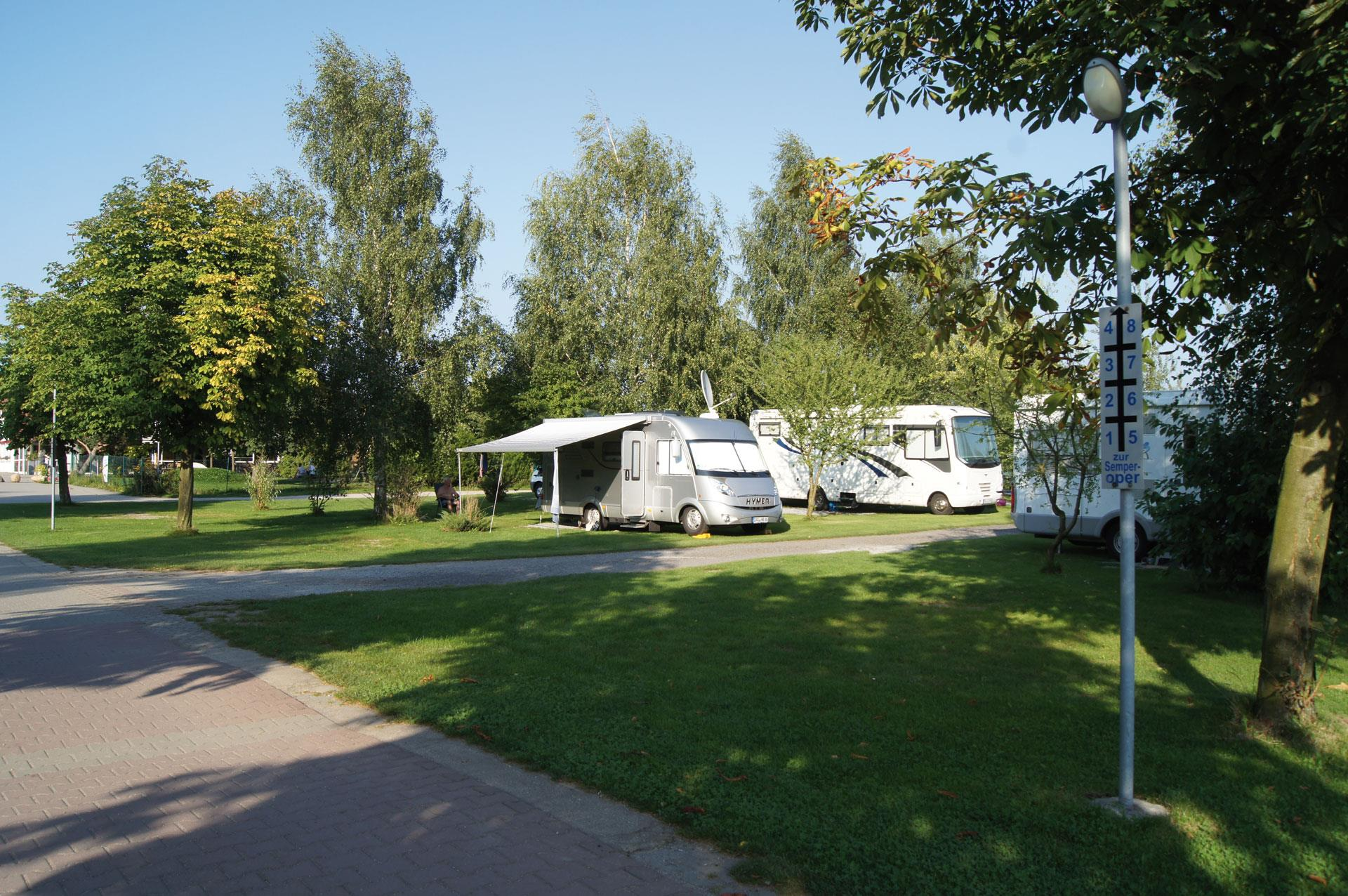 Emplacement - Emplacement Camping-Car - Campingpark LuxOase