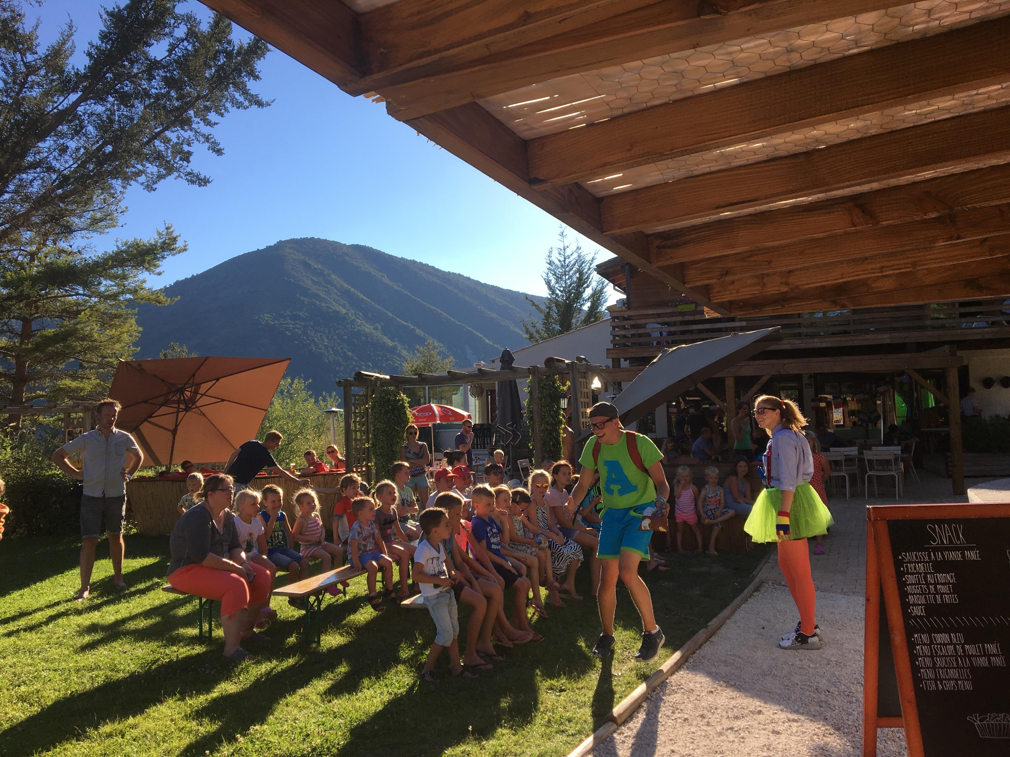 Entertainment organised RCN les Collines de Castellane - CASTELLANE