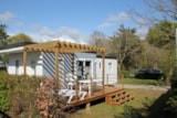 Rental - Mobile home - 3 bedrooms - 1 bathroom - PRIVILEGE - Camping La Grande Métairie