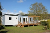 Rental - Mobile home - 3 bedrooms - 2 bathrooms - PRIVILEGE CLUB - Camping La Grande Métairie