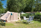 Pitch - Comfort Package : Electricity 10 A - Water And Drainage Point -  110-130 M² - Amac Camping La Grande Métairie