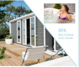 Rental - Mobile home - 2 bedrooms - 2 bathrooms - PRIVILEGE CLUB SPA - Camping La Grande Métairie