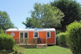 Rental - Mobile home - 3 bedrooms - PRIVILEGE - Camping La Grande Métairie