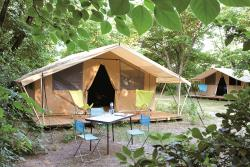 Huuraccommodatie - Toile&Bois Tent Classic Iv - Camping de Strasbourg