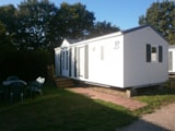 Rental - Mobile Home Louisiane Florès - Camping La Croix du Bois Sacker