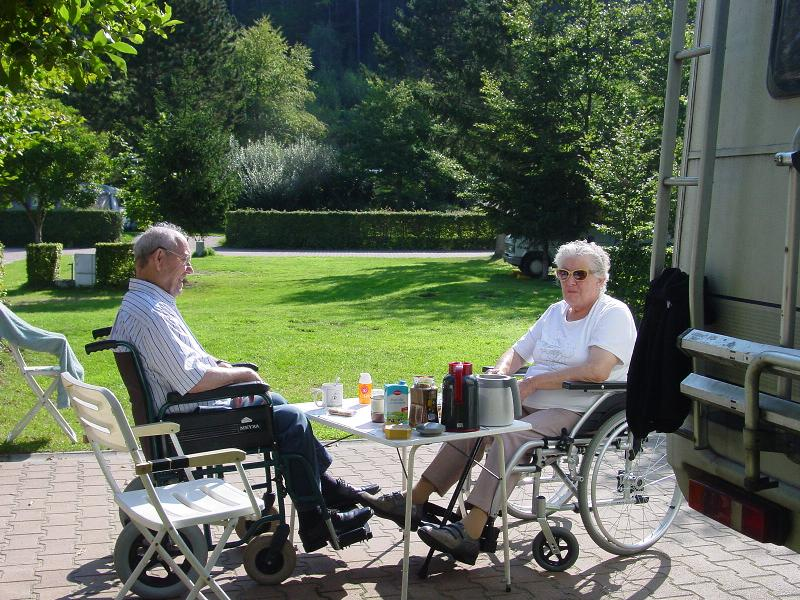 Wheelchair friendly Europacamping Nommerlayen - Nommern