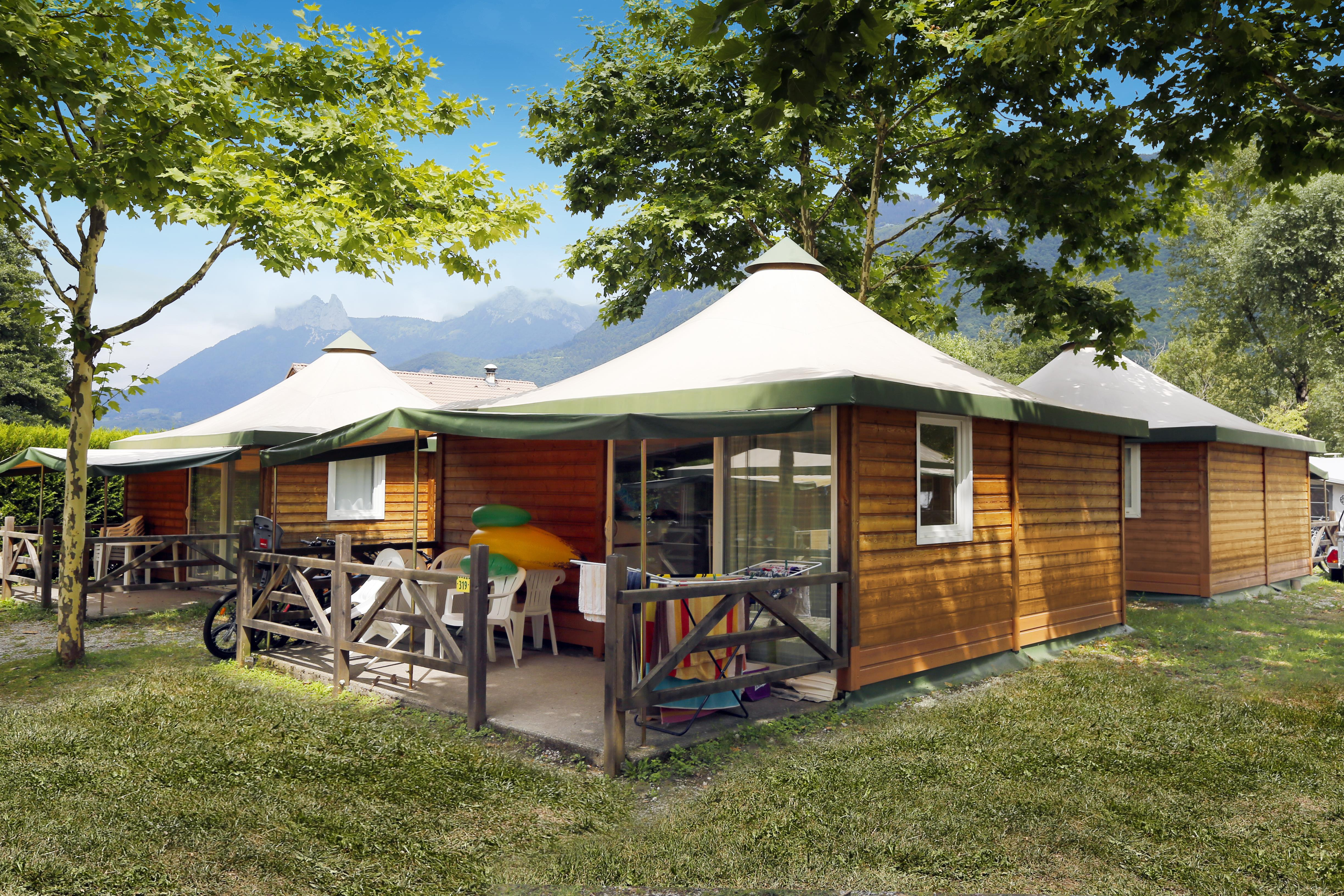 Location - Chalet 2 Chambres - Camping Campéole Clairefontaine
