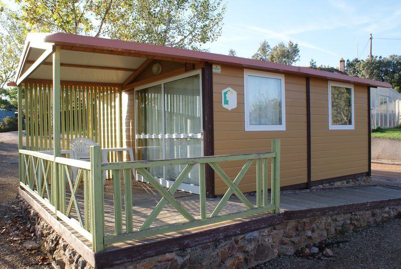 Accommodation - Wooden Bungalow - Camping  El Mirador de Cabañeros