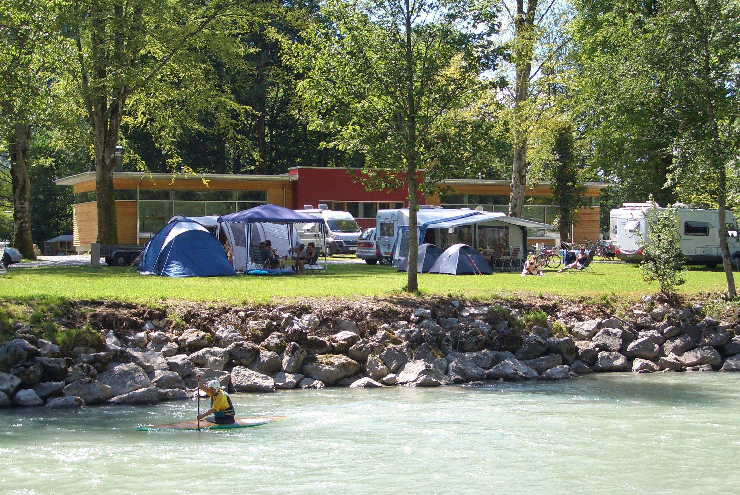 Pitch XX-Large on the river(at least) 180 m²