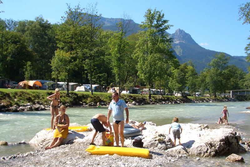 Mare, piscina Grubhof - Camping & Caravaning - St. Martin Bei Lofer