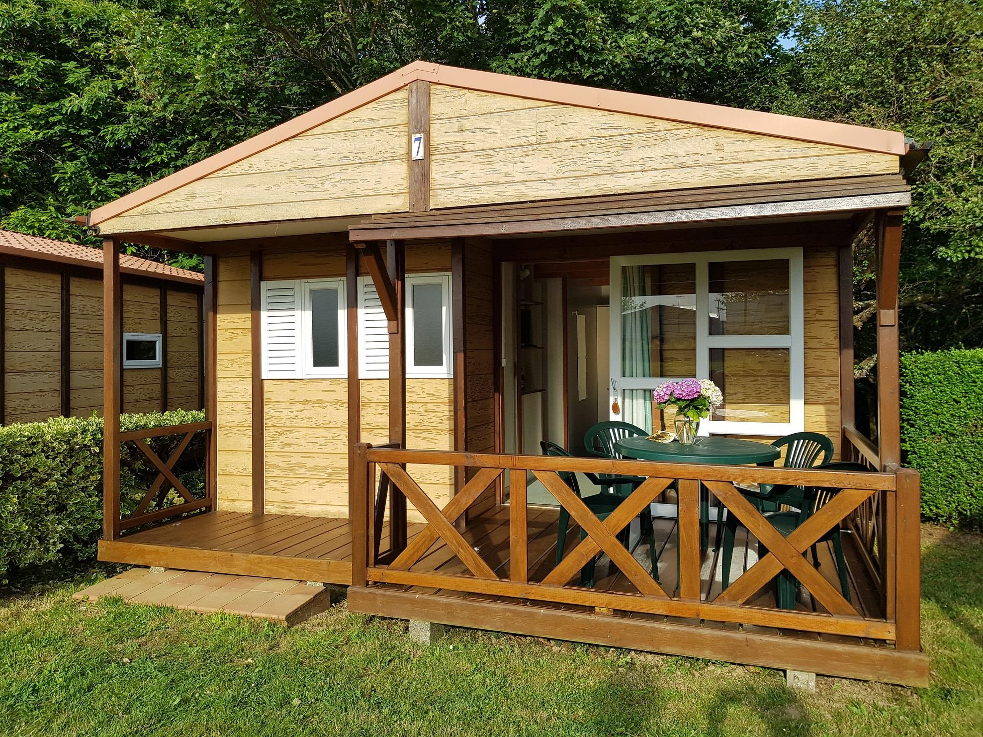 Accommodation - Bungalow A - Camping L'Amuravela