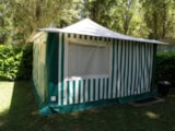 Rental - Canvas Bungalow Lagune - Camping Les 2 Lacs