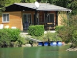 Rental - Fishing Chalet - Camping Les 2 Lacs