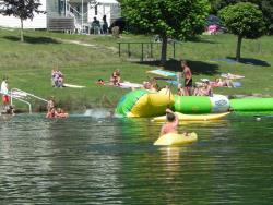 Baignade Camping Les 2 Lacs - Beauville