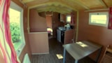Rental - Roulotte 17m² without toilet block - Camping de Rodaven