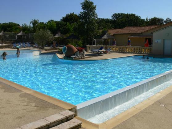 Mare, piscina Camping Les Cigales - BERRIAS