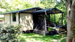 Huuraccommodaties - Cottage - CAMPING DE L'ARCHE