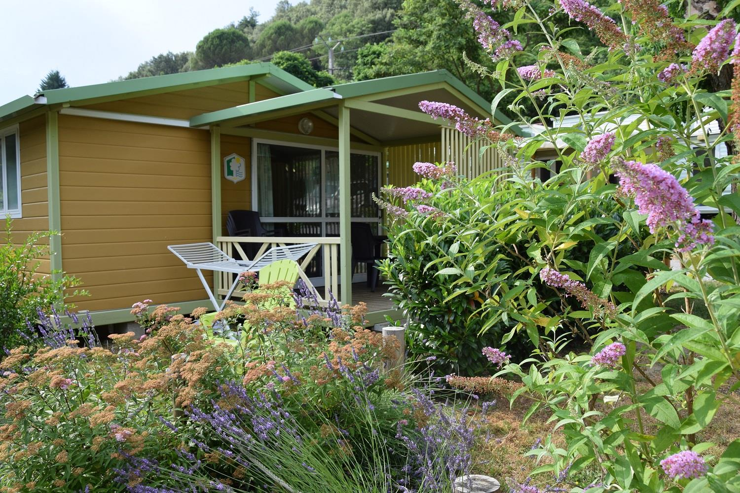 Accommodation - Chalet Gitotel 25 M² - Camping la Charderie