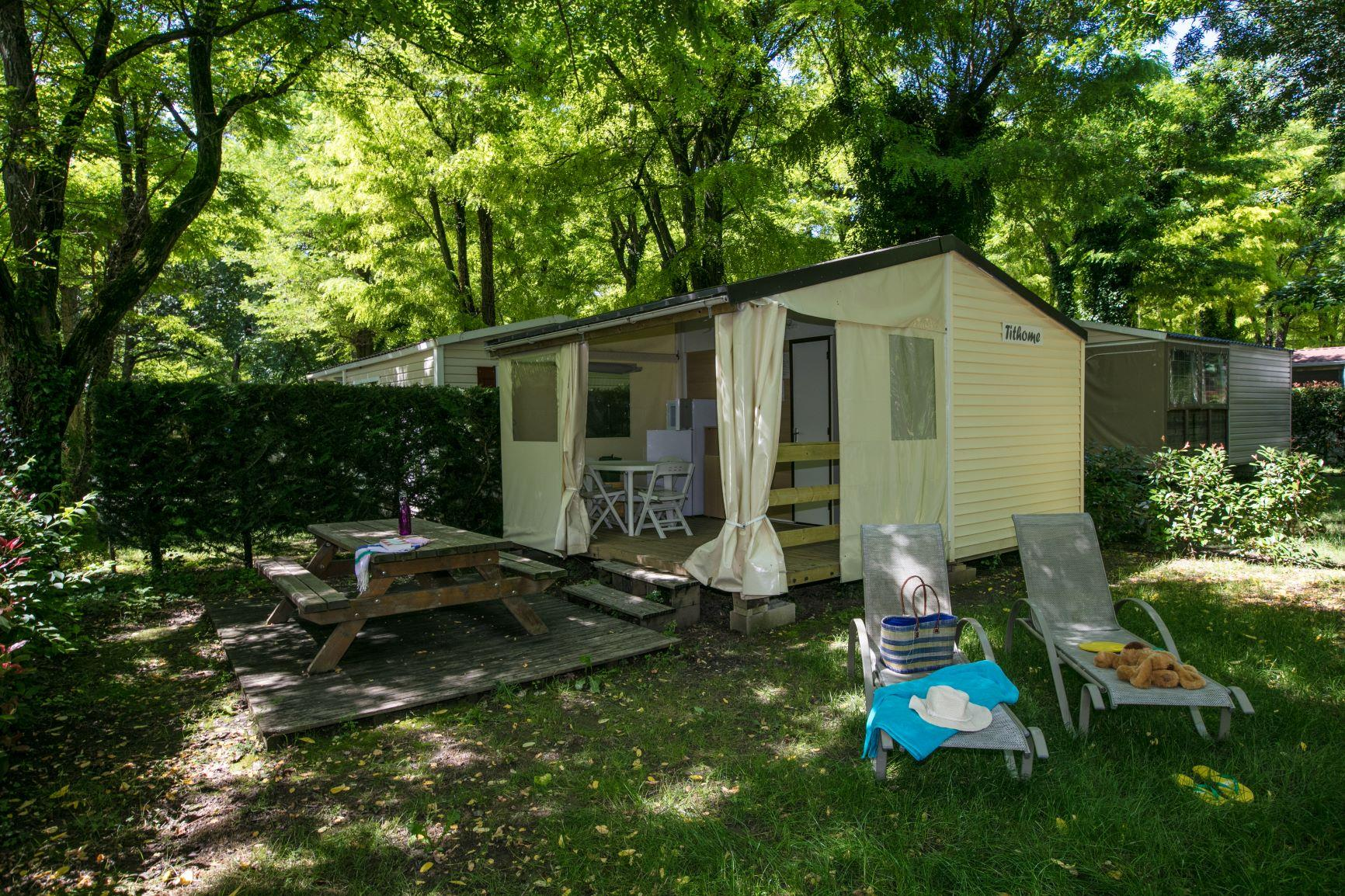 Location - Tithome Sans Sanitaires - 2 Chambres (1) - Camping Laborie