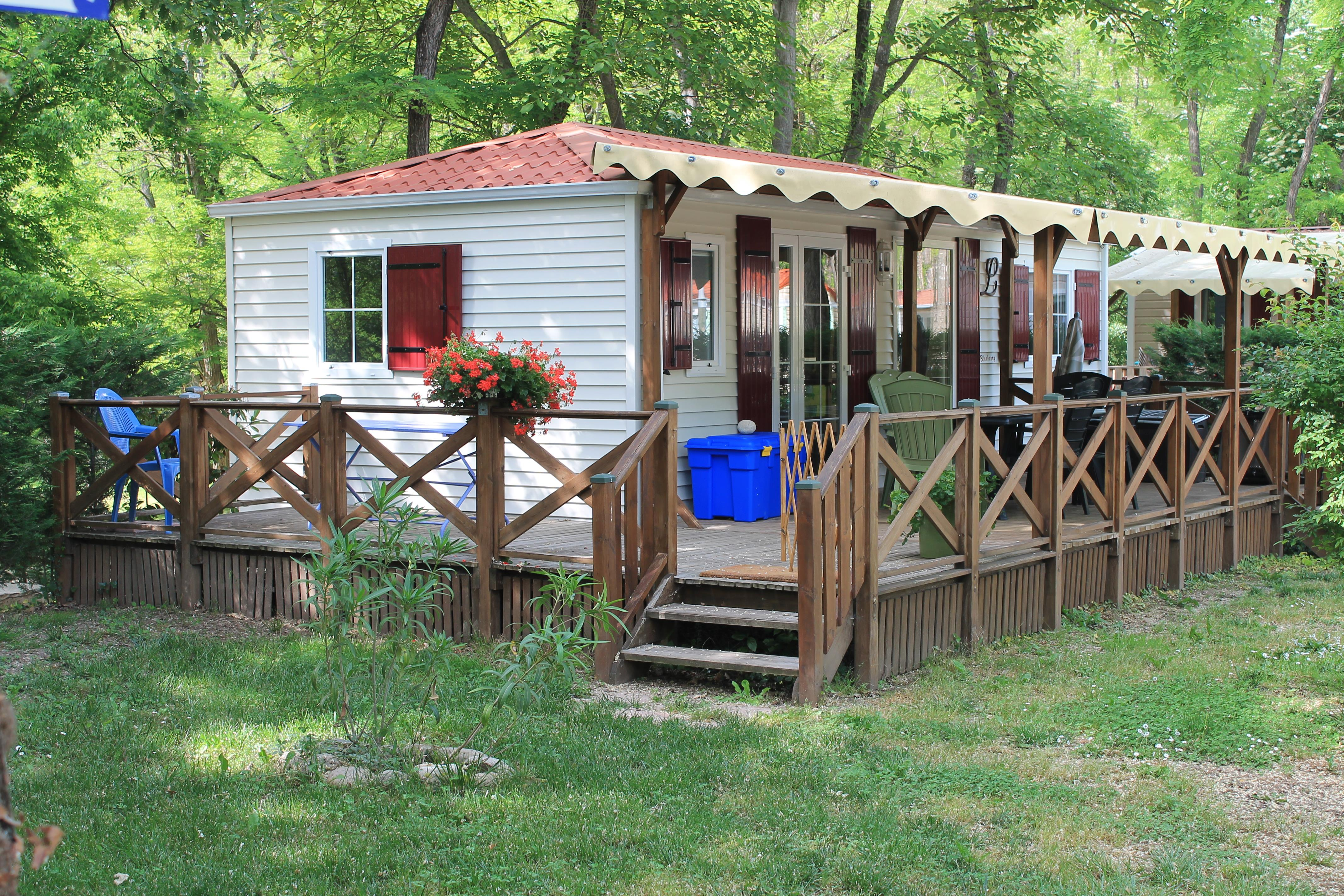 Locatifs - Mobilhome Louisane Luxe (1) - Camping Laborie