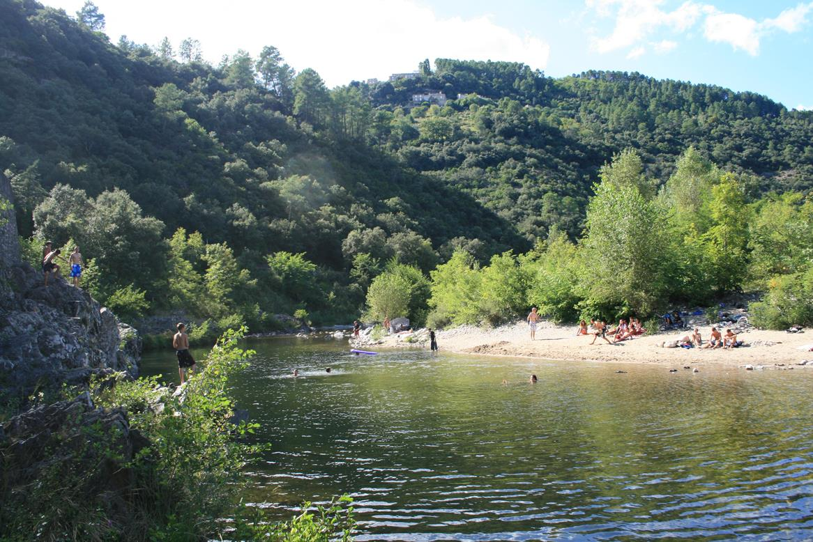 Baignade Camping Les Chataigniers - Ribes