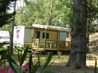 Mobile home without sanitary small price of 15 m² maximum: 4 people