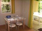 Rental - Chalet CONFORT TRIANON 20m²  2 bedrooms - sheltered terrace - Flower Camping LE PLAN D'EAU