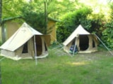 Rental - Tent TIPIC - Flower Camping LE PLAN D'EAU