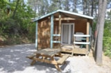 Rental - Chalet Garrigue - 2 Rooms - Camping Bois Simonet