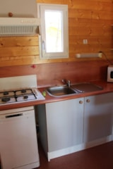 Rental - Chalet MIMOSA - 2 Rooms - Camping Bois Simonet