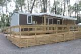 Rental - CHALET CHATAIGNIER - 2 Rooms - Camping Bois Simonet