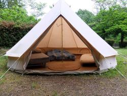 Huuraccommodatie - Canvas Fitted Tent - Camping Le Moulin de Gournier