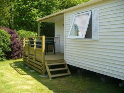 Mobile-home TI 32m² Half-covered terrace