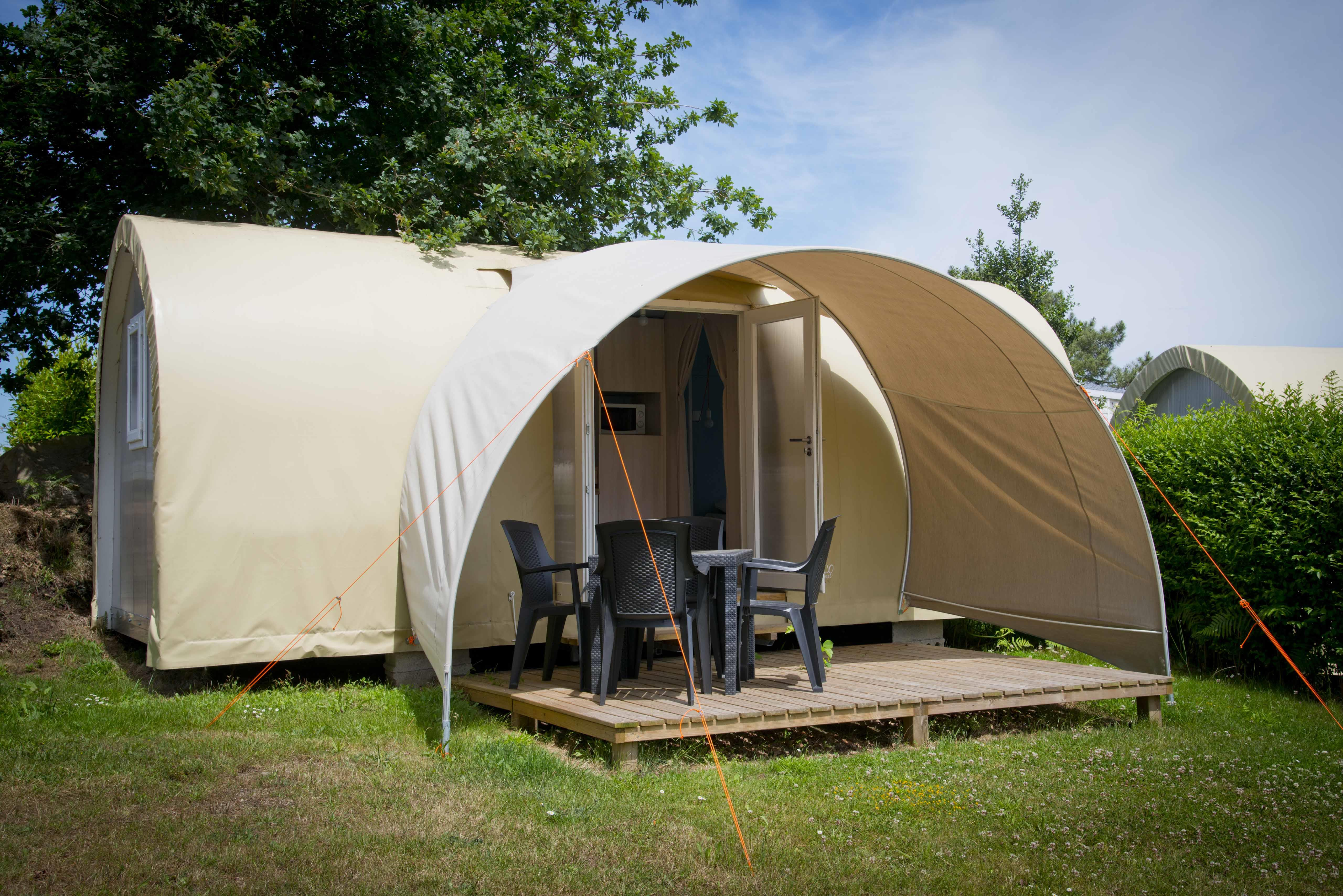 Location - Coco Sweet 16M² (2 Chambres) Sans Sdb - Camping Le Rouge Gorge