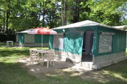Huuraccommodaties - Bungalow-Toile - CAMPING LE CHASSEZAC