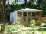Huuraccommodaties - Stacaravan Premium O'Hara 865T (2 slaapkamers) airconditioned - Camping Le Clapas