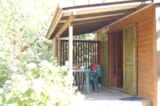 Rental - Chalet en Bois without private facilities - CAMPING DE BELOS