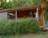 Rental - Chalet Abeille with private facilities - CAMPING DE BELOS