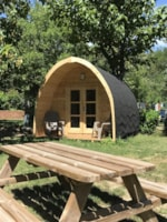 Bedroom - Room without sanitary - CAMPING RELAIS DES BRISON
